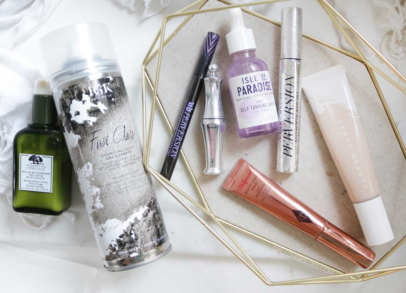 October Beauty Favourites Hair makeup Skincare