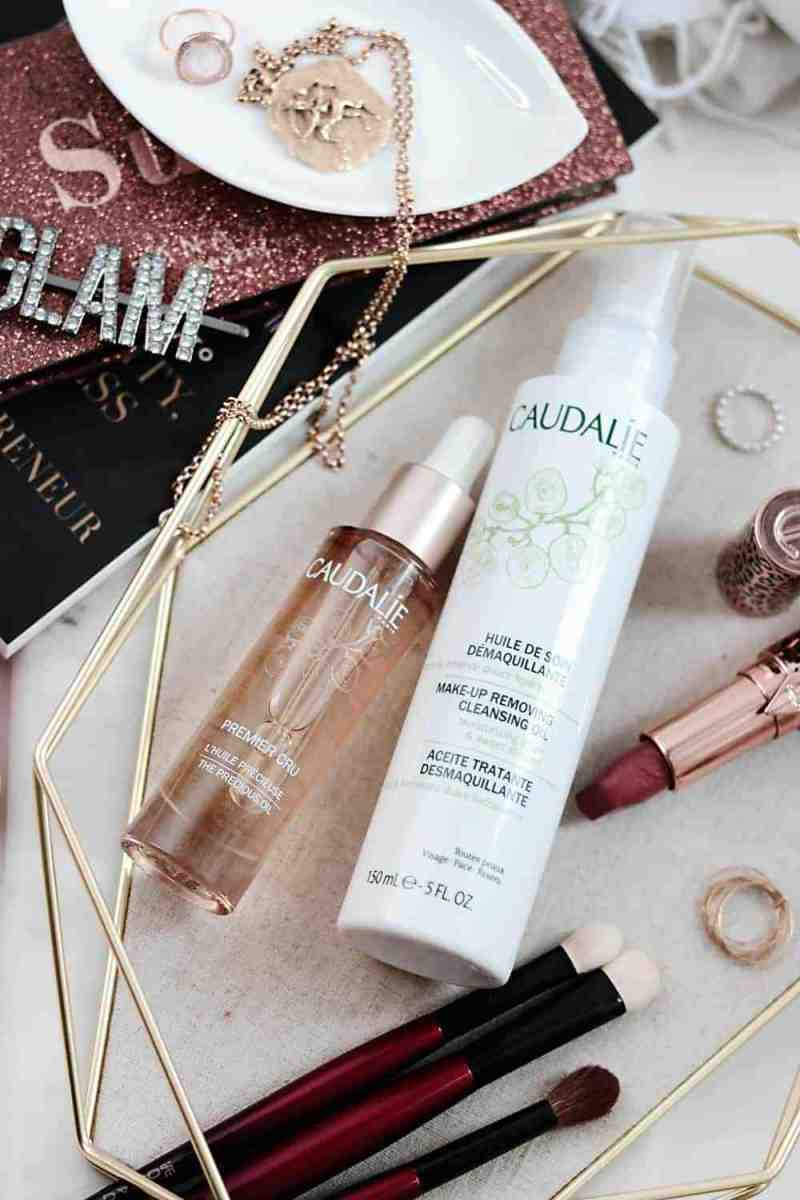 Caudalie Cleansing Oil and Precious Oil with BeautySense