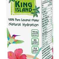 King Island 100 Percent Coconut Water, 1 Litre