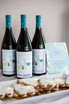 customized wine labels etsy
