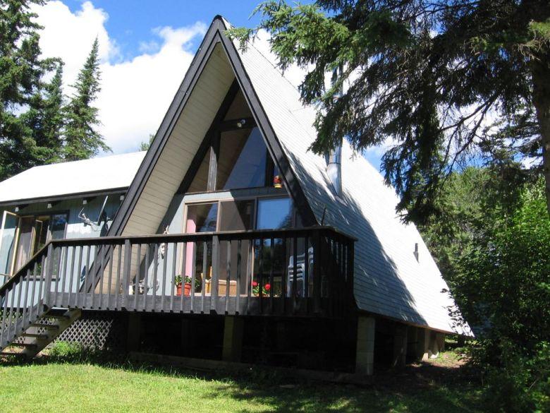 A-frame cabin rental