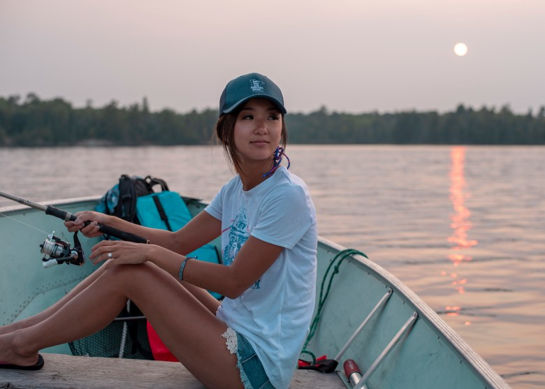 Fishing at Voyageurs National Park Rainy Lake