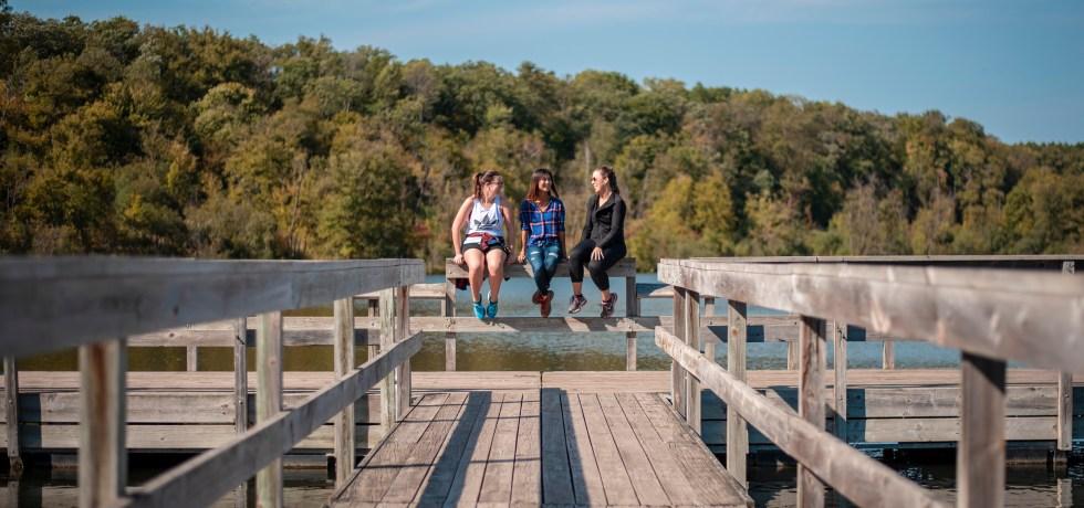 William O'Brien State Park Riverside Trail dock