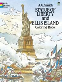 statue-liberty-ellis-island-coloring-book-a-g-smith-paperback-cover-art