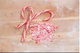 Candy cane crushed