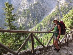 Intrepid hiker/traveller
