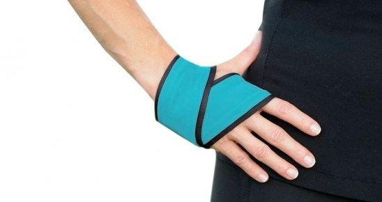 The Handana keeps sweat out of your eyes