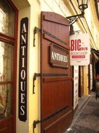 Antiques Shop Prague