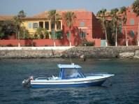 Houses on Goree Island - Senegal
