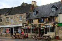 Burford high street - The Cotswold - England