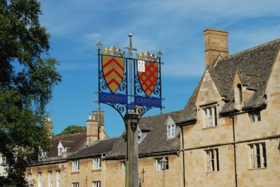 Chipping Campden Sign - The Cotswolds - England