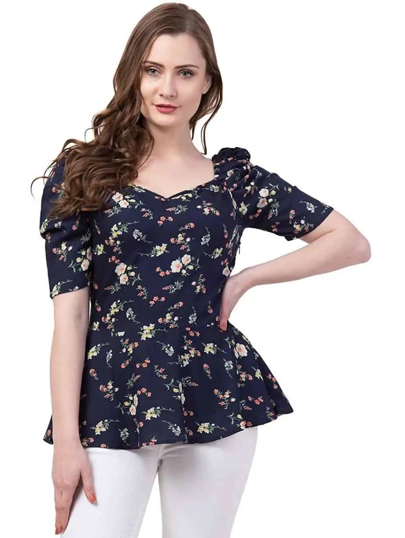 ZUVINO Girl's Regular Fit Top