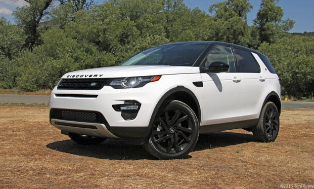 2015 Land Rover Discovery Sport HSE front