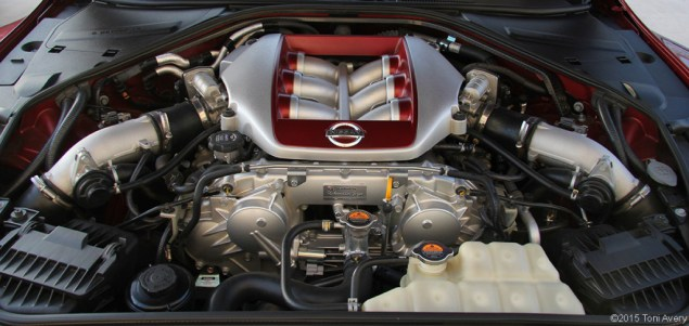 2015 Nissan GT-R engine