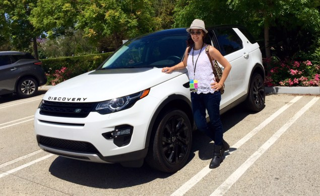 Toni w Land Rover Discovery Sport