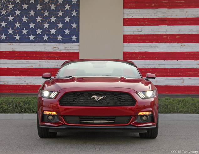2015 Ford Mustang EcoBoost front