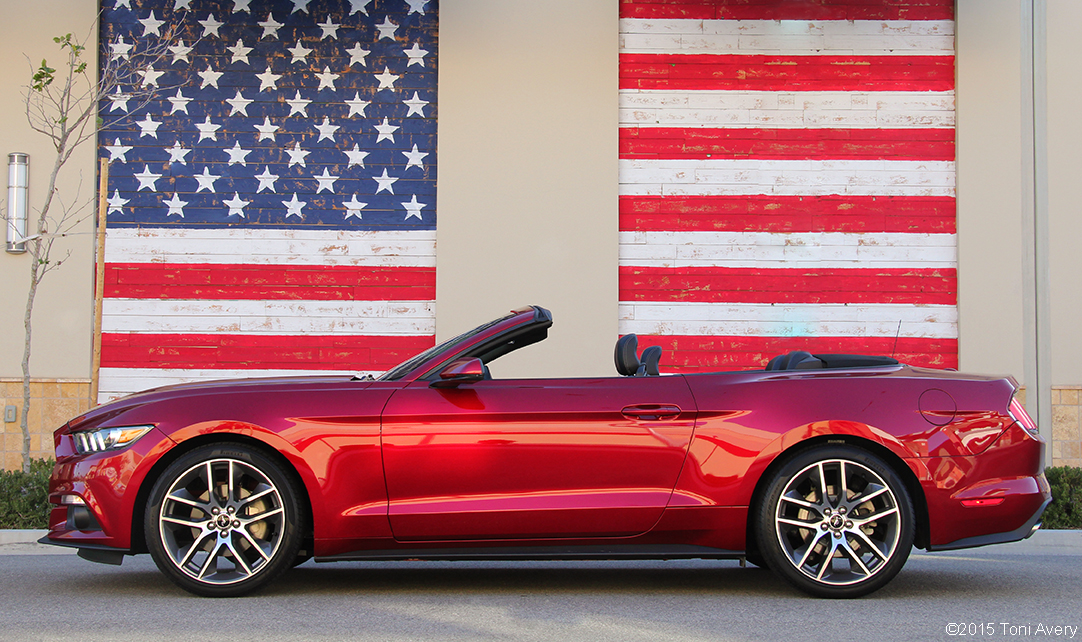 2015 Ford Mustang EcoBoost Convertible Review