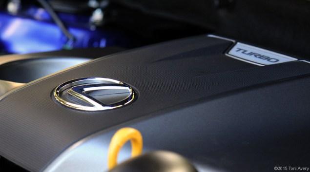 2015 Lexus NX 200t F Sport engine