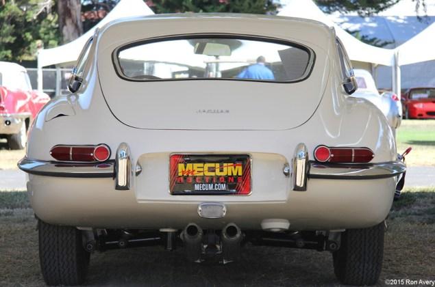 8-13-15 Mecum Auctions Monterey, CA 1964 Jaguar E-Type FHC