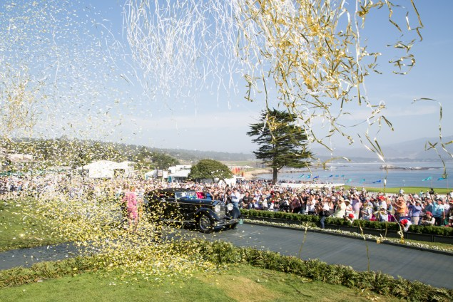 Photo by Steve Burton. Courtesy of Pebble Beach Concours d'Elegance
