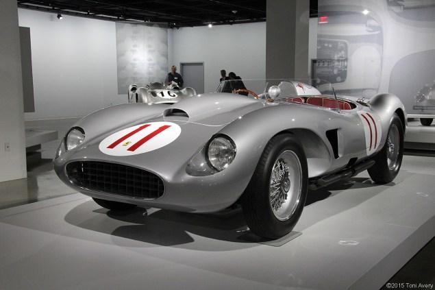 1957 Ferrari 625/250 Testa Rossa, Petersen Museum Los Angeles, CA