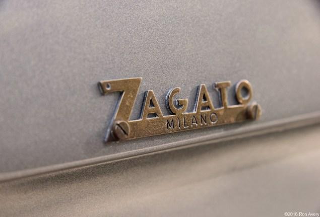 1955 Fiat 8V Zagato Double Bubble 1-3-16