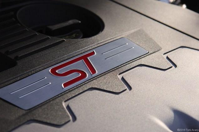 2016 Ford Focus ST engine