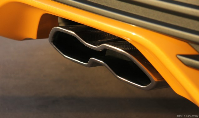 2016 Ford Focus ST exhaust