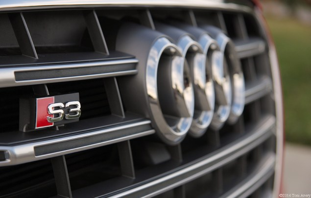 2016 Audi S3 grille