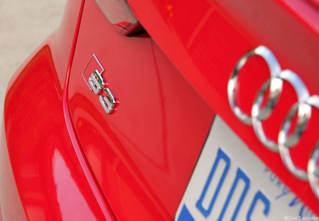 2016 Audi S3 rear badge