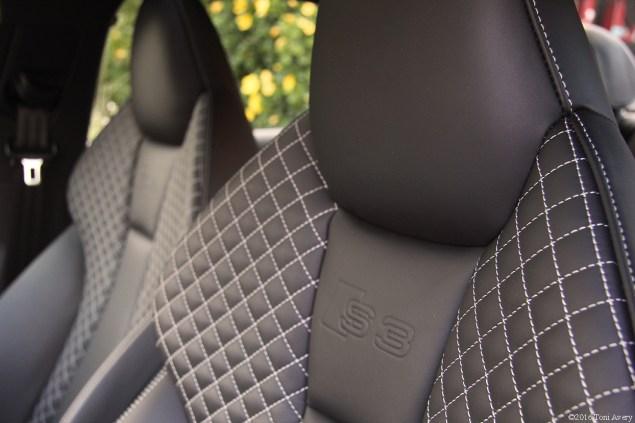2016 Audi S3 seats