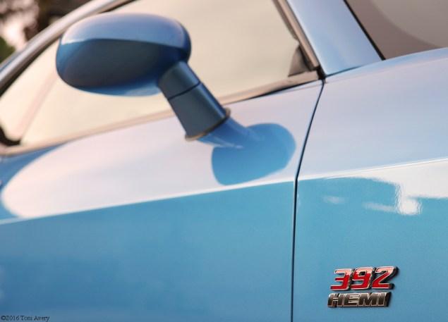 2016 Dodge Challenger SRT 392 door badge