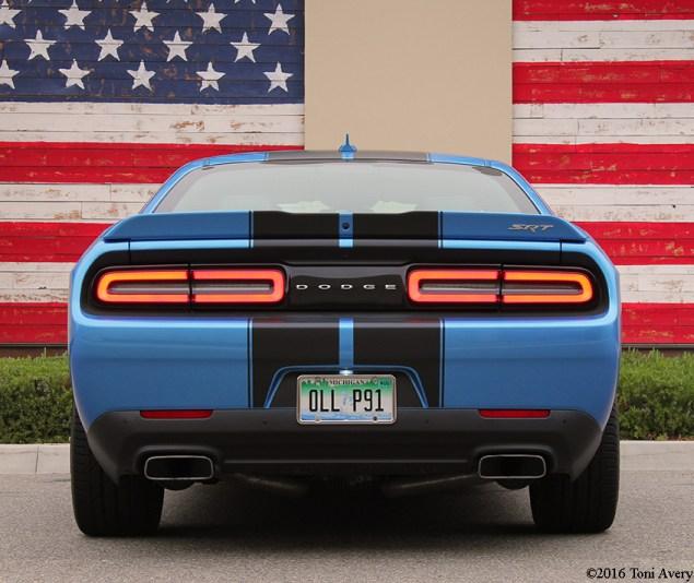 2016 Dodge Challenger SRT 392 rear