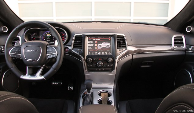 2016 Jeep Grand Cherokee SRT interior