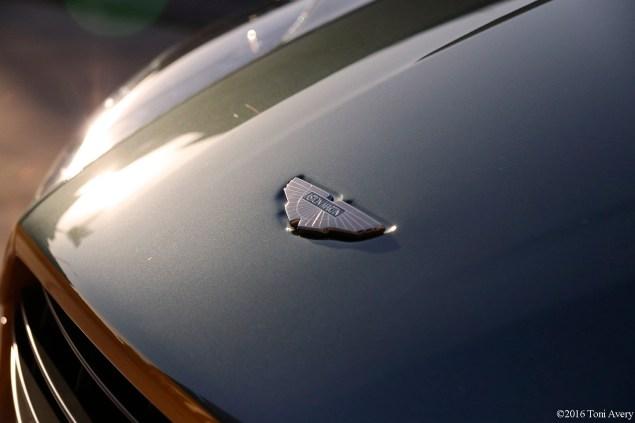 2016 Aston Martin Vantage GT nose badge
