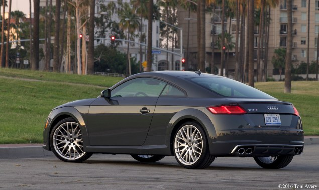 2016 Audi TTS Coupe rear