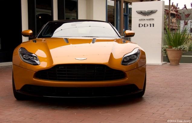 Aston Martin on Ocean Aston Martin DB11 front