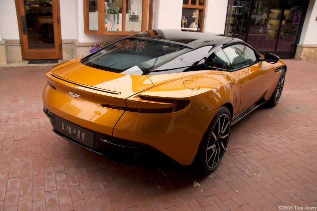 Aston Martin on Ocean Aston Martin DB11 rear