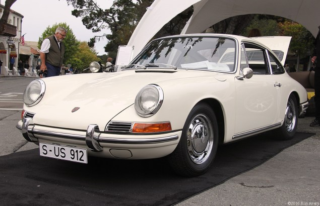 Concours on the Avenue 1965 356B 912 Coupe