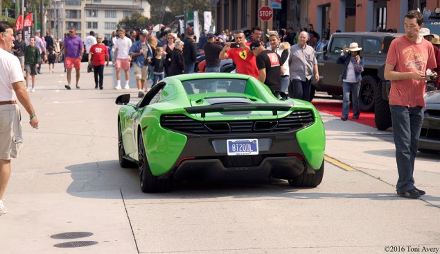 Exotics on Cannery Row McLaren 650