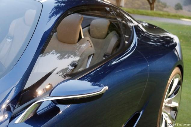 Lexus LF-LC Concept mirror