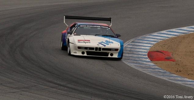 Rolex Monterey Motorsports Reunion BMW M1