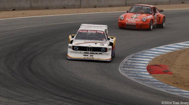 Rolex Monterey Motorsports Reunion BMW and Porsche