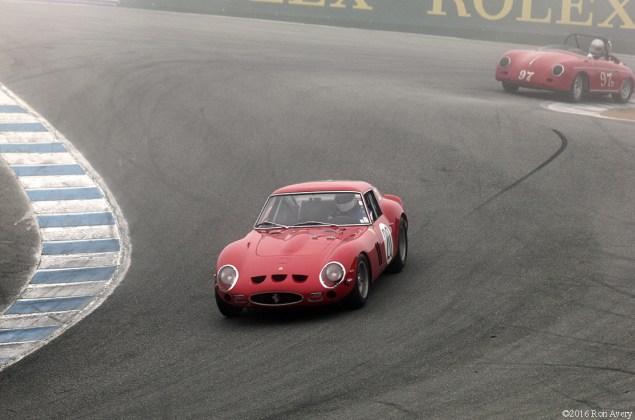 Rolex Monterey Motorsports Reunion Ferrari 250GTO and Porsche Speedster