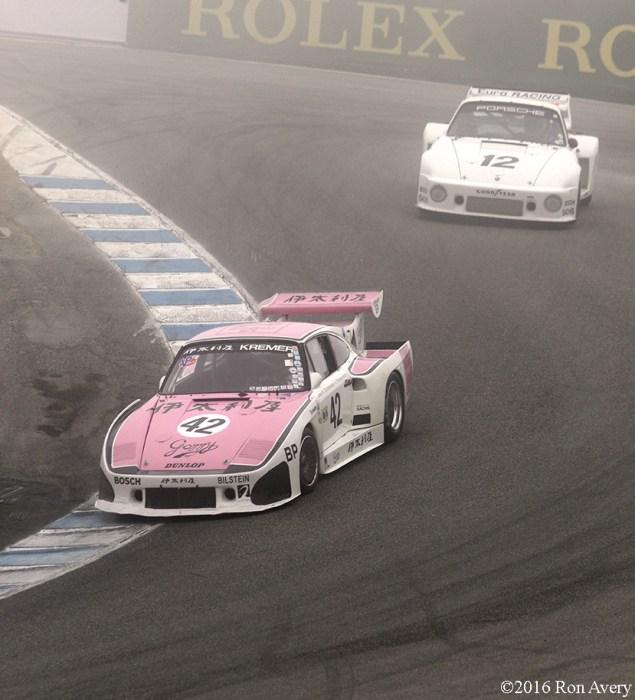 Rolex Monterey Motorsports Reunion Porsche corkscrew