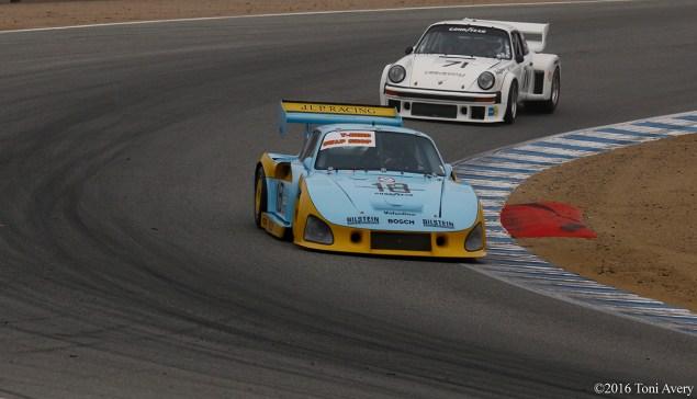 Rolex Monterey Motorsports Reunion Porsches