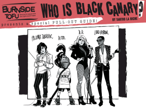 Black Canary #2 - Burnside Tofu
