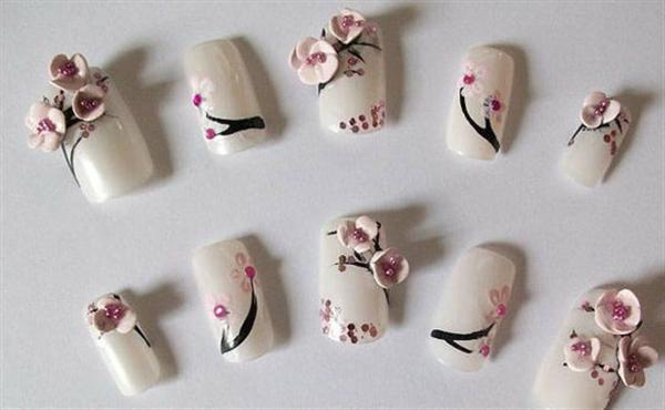 Elegant And Beautiful Anese 3d Nail Art Designs Supplies Gallery 8