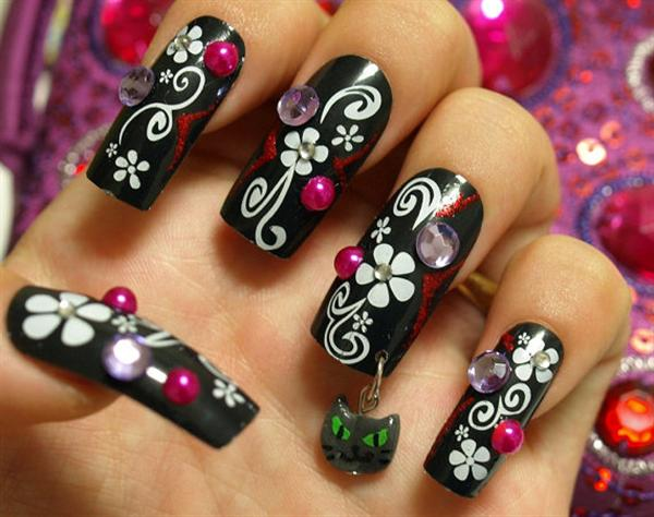 Do It Yourself Nail Art Designs For Beginners Hd Image