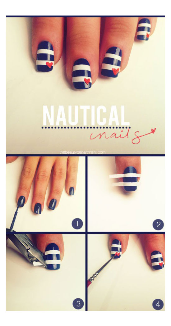 Easy Nail Art Designs For Beginners Step By Tutorials Beststylo